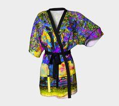 07198 Kimono Robe The Bedford Oak by designsbyjaffe on Etsy