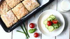 Helppo kaurapeltileipä - Suklaapossu Savory Snacks, French Toast, Pork, Meat, Breakfast, Kale Stir Fry, Morning Coffee, Pork Chops