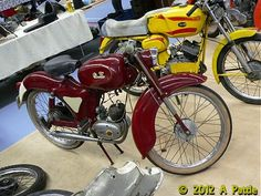 1957 Typhoom Futura with an HMW engine - Motorrad Small Motorcycles, Vespa, Motorbikes, Engineering, Bicycle, Caravans, Scooters, Austria, Vehicles