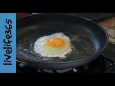 How to...Make a Perfect Fried Egg - YouTube