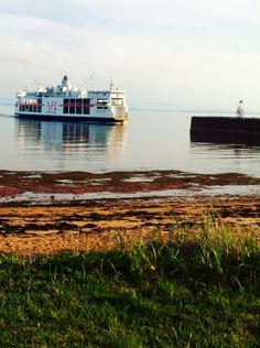 NFL Ferries coming into port - Julie W. Ferry Boat, Prince Edward Island, Nova Scotia, Boats, Sailing, Cruise, Nfl, Ships, In This Moment