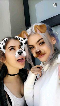 grafika sahar luna, kelsey calemine, and snapchat