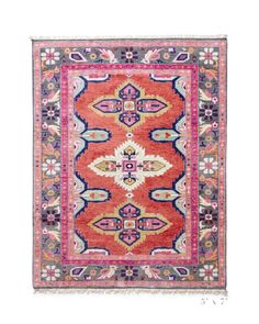 A stunning antique-inspired Persian rug created to perfection in all our favorite hues. It is as luxurious underfoot as it is stylish. Dress it up with coordi