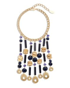 Chico's Hannah Statement Bib Necklace