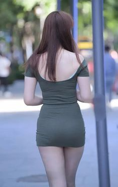 Sexy Asian Girls, Beautiful Asian Girls, Sexy Outfits, Short Skirts, Dress Skirt, Magazines, Korean, Booty, Female