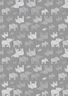 Gray Elephants Fabric, Lewis & Irene Fabric, Welcome To The World Small Elephants Quilt Fabric, Baby Fabric, Cotton Yardage Small Elephant, Elephant Family, Grey Elephant, Elephant Quilt, Elephant Fabric, Baby Fabric, Cotton Fabric, Seaside Theme, Toddler Quilt