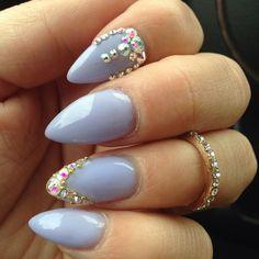 226 best pointed gel nails desgins images in 2016  gel
