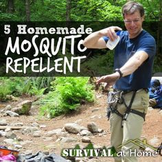 Remedies For Water Retention 5 Homemade Mosquito Repellents - Survival at Home - Luckily enough for us, there are plenty of homemade mosquito repellent recipes we can use that are non-toxic! Here are the 5 most common. Best Mosquito Repellent, Mosquito Spray, Insect Repellent, Home Remedies, Natural Remedies, Water Retention Remedies, Camping, Pest Control, Bug Control