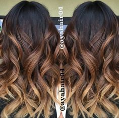 15 Best Maroon Hair Color Ideas of 2019 - Dark, Black & Ombre Colors - Style My Hairs Ombre Hair Color For Brunettes, Brunette Color, Hair Color Balayage, Balayage Ombre, Ombre Hair Colour, Brunette Ombre Balayage, Blonde Ombre Hair, Best Ombre Hair, Brunette Hair