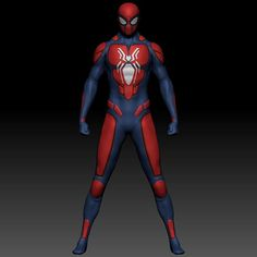 New Spiderman Suit, Noir Spiderman, Spiderman Web, Amazing Spiderman, Marvel Concept Art, Miles Morales Spiderman, Spider Girl, Superhero Characters, Batman Universe