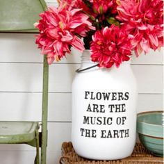 Quote Vase DIY {Vases}