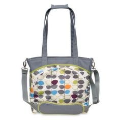 JJ Cole® Mode Diaper Tote in Mixed Leaf - BedBathandBeyond.com