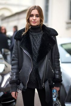 A Model-Approved Way To Stay Warm Without Sacrificing Style