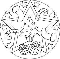 Weihnachten Mandala Ausmalbilder.Die 86 Besten Bilder Von Mandala Ausmalbilder Coloring Pages