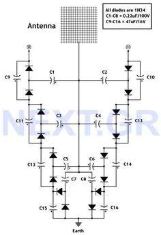 FREE ENERGY ::: Look & build this. This circuit converts surrounding radio…
