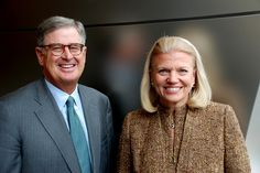 First women CEO @ IBM -- Ginni Rometty!