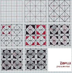 tangle patterns   Zanella-Tangle Pattern   Flickr - Photo ...   Inspire ♥ Zen ...