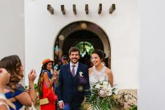 Bubbles! Ceremony in Playa del Carmen Chapel