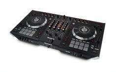 nice Numark III Motorized Four Deck Serato DJ Controller Mixer w Screens 3 Dj Sound Effects, Dj Decks, Serato Dj, Dj Headphones, Professional Dj, Pioneer Dj, Dj Gear, Dj Equipment, Best Dj