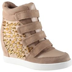 The destination for style-conscious shoppers, ALDO Shoes is all about accessibly-priced on-trend fashion footwear and accessories Studded Sneakers, Wedge Sneakers, Shoes Sneakers, Sneaker Wedges, Fab Shoes, Wedge Shoes, Women's Shoes, Aldo Shoes, Shoe Sale