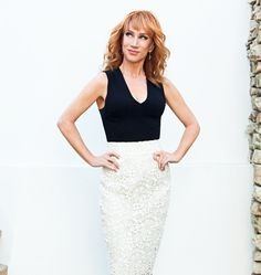 Kathy Griffin for WWD. Hair by Charles Baker Strahan.