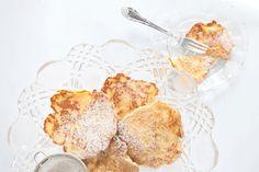 Racuchy – polish pancakes with apple