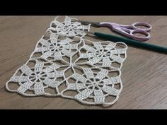Tığişi Örgü Vitrin Dantel Yapımı, Crochet - YouTube Crochet Motifs, Hand Crochet, Crochet Lace, Crochet Patterns, Bijoux Art Deco, Easter Crochet, Crochet Videos, Lace Making, Crochet For Beginners