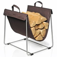 Blomus Madra Log Basket, Brown ** Continue With The Details At The Image  Link
