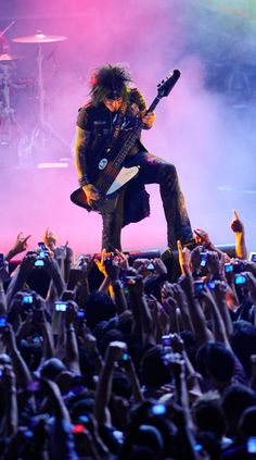 Nikki Sixx of Motley Crue Nikki Sixx, Great Bands, Cool Bands, Too Fast For Love, 80s Hair Metal, Sixx Am, 80s Hair Bands, Vince Neil, We Will Rock You