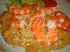 Receita de Açorda de Camarão com Creme de Lagosta .:. Kitchenet .:. Livro de culinária do aeiou