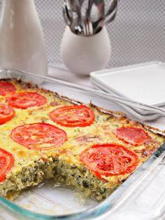vegetarian (gluten free) zucchini bake