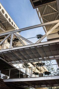 Projeto EFE Arquitetos - Faculdade Suprema - Estrutura Metalica e Pré moldados de concreto / Metallic structure