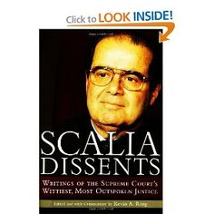"Certainly the wittiest of our current justices.  As I recently noted in the margin of one of my casebooks, next to one of his more scathing paragraphs in an opinion, ""Oh, Scalia, you're the best.""  Seriously, read some Scalia."