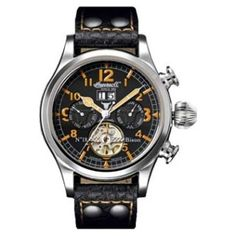 Reloj Ingersoll Automatico Bison 18 Numeros Naranjas Crono  http://www.tutunca.es/reloj-ingersoll-automatico-bison-18-numeros-naranjas-crono