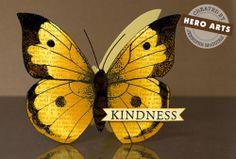 Hero Arts Cardmaking Idea: Winged Friend