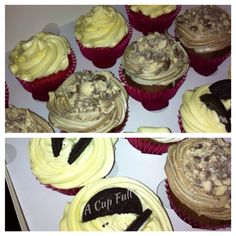 Red Velvet, Maltesers and Oreo Chocolate Chip Cupcakes