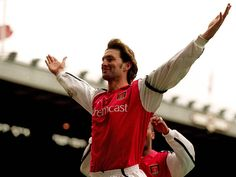 "Tony Adams: ""Play for the name on the front of the shirt, and they'll remember the name on the back."""