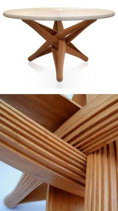 LOCK Table par J.P.Meulendijks - Journal du Design