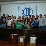 Patricia Burgos de la lista verde ganó en las elecciones del (SIPREca)