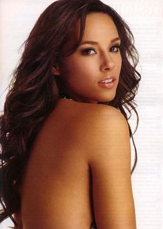 Alicia Keys--she's gorgeous, has a perfect figure and she's talented what's not to love??