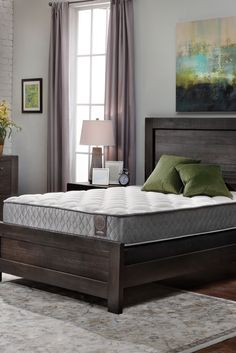 The Summit® Firm Mattress provides supportive comfort with its earth-friendly foam layer over innerspring coils. #sleep #bed #home #denvermattress Custom Mattress, Best Mattress, Sleep Better, Queen Size, Denver, Earth, Bed, Furniture
