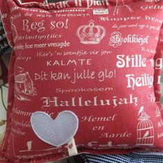 HIEP HIEP HOORAY – #AFRIKAANS SAYINGS ON CUSHIONS BY KIM'S COLLECTION IS AFRIKAANS NOT THE MOST AMAZING LANGUAGE