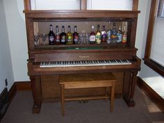 I want my house to have a piano and a bar... why not combine the two?