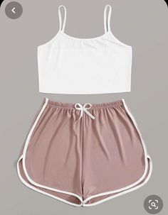 Cute Lazy Outfits, Crop Top Outfits, Sporty Outfits, Pretty Outfits, Stylish Outfits, Cool Outfits, Really Cute Outfits, Girls Fashion Clothes, Teen Fashion Outfits
