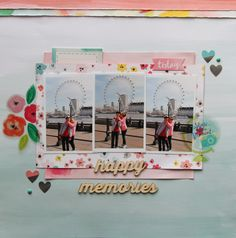 Pink Paislee Fancy Free - Happy Memories by Fiona Johnstone