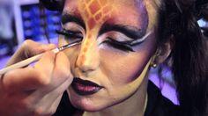 Maquillaje con aerografo SALON LOOK INTERNACIONAL 2012. Escuela makeup C...