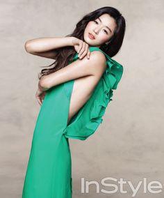 새로운 전지현과 마주하다, InStyle Korea March 2013