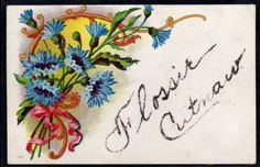FR030-ART-DECO-BLEUETS-RUBAN-Gaufree-RELIEF