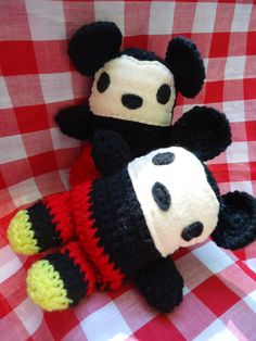 Chibi style Mickey and Minnie Mouse dolls-Z