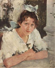 A short description of V. Serovs painting A Girl Illuminated by the Sun